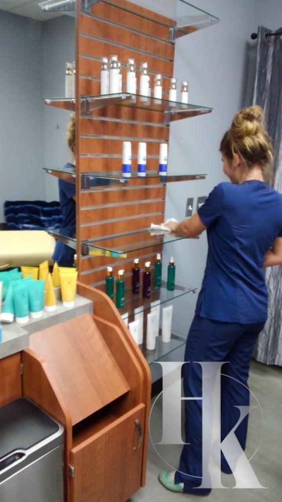 Sanitary Room For Waxing