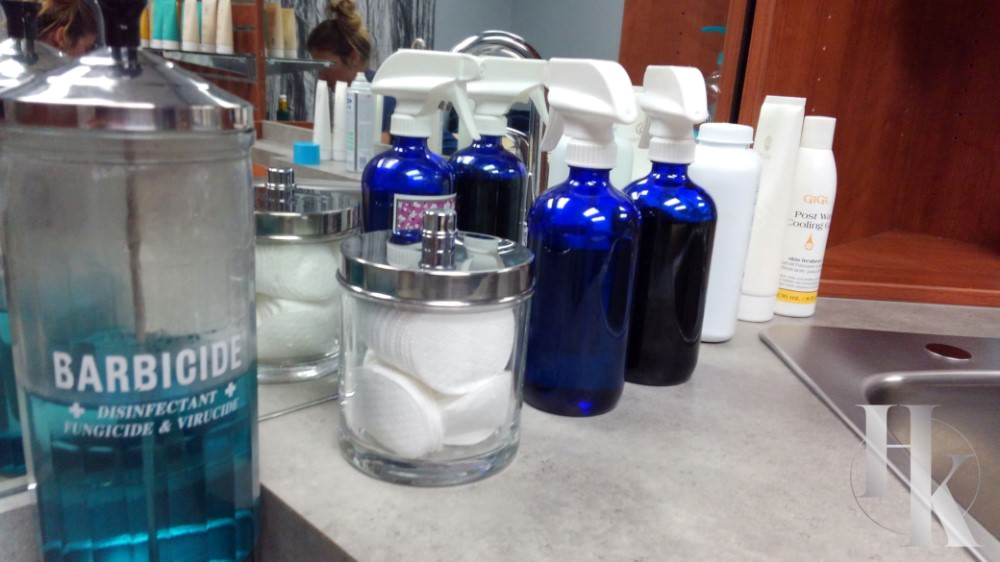 Supplies Used During Wax