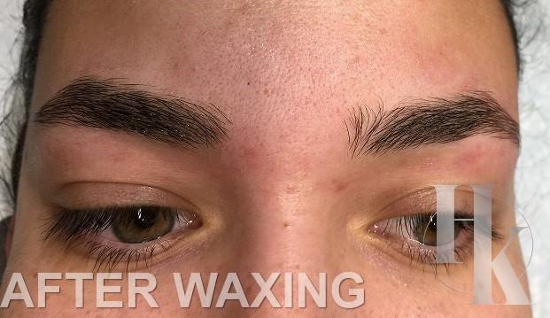 Eye Brow Waxing Austin (after)
