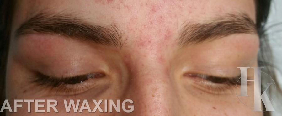 Eye Brow Waxing Near The Domain (after)