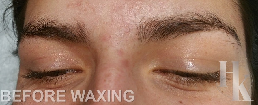 Eye Brow Waxing Near The Domain (before)