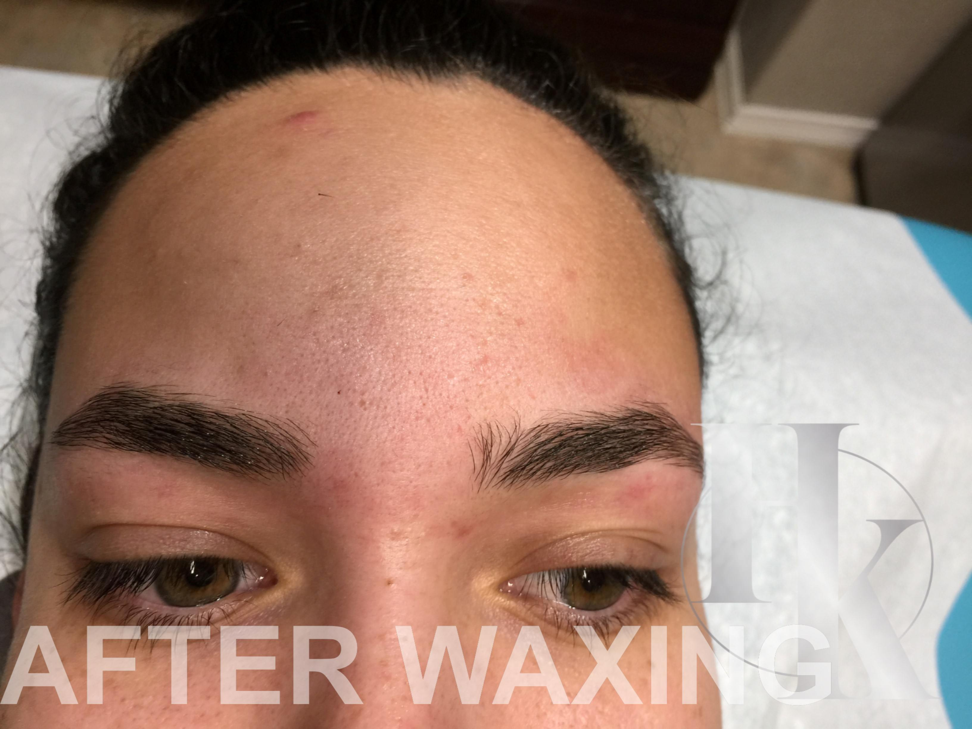 Eyebrow Waxing North Austin (after)