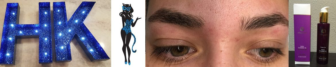 Eyebrow Waxing Collage